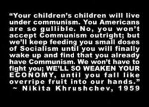 Khrushchev Quote September 29, 1959