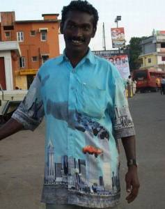 Muslim with 911 Shirt